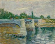 Vincent van Gogh Print The Bridge at Curbevoie