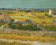Vincent van Gogh Print The Harvest