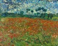 Vincent van Gogh Print Poppy Field