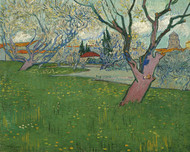 Vincent van Gogh Print Orchards in Blossom View of Arles