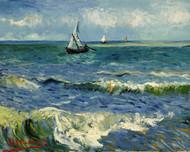 Vincent van Gogh Print Seascape Near Les Saintes Maries de la Mer