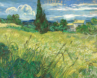 Vincent van Gogh Print Green Field