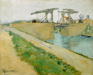 Vincent van Gogh Print The Langlois Bridge