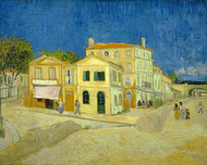 Vincent van Gogh Print The Yellow House the on Street