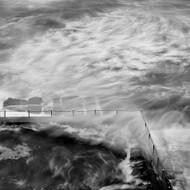 Seascape Print Avalon Bath by Jeff Grant