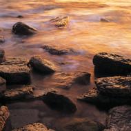 Seascape Print Shelley Beach Rocks by Jeff Grant