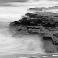 Seascape Print Turimetta BW by Jeff Grant