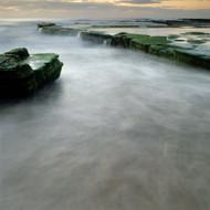 Seascape Print Turimetta Channel Water by Jeff Grant