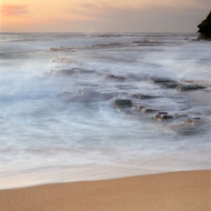 Seascape Print Turimetta Surf by Jeff Grant