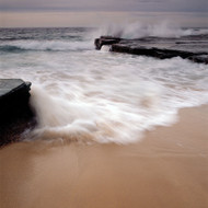 Seascape Print Turimetta Wave Splash by Jeff Grant
