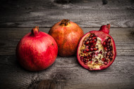 Pomegranates by Tnfoto Art Print