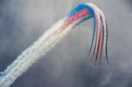 Red Arrows by Leon Art Print