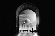 Taj Mahal by Hussain Buhligaha Architecture Print