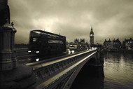 Westminster Bridge by Scott Lanphere Art Print
