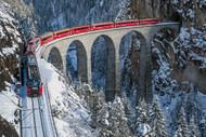 Worlds Top Train Bernina Express by Roberto Sysa Moiola