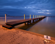 North Narrabeen by Jeff Grant Seascape Print