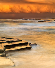 Turimetta 07 by Jeff Grant Seascape Print