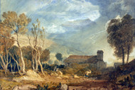 William Turner Print Ingleborough from Chapel le Dale