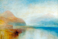 William Turner Print Inverary Pier Loch Fyne Morning