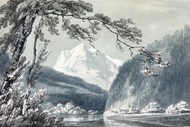 William Turner Print Near Grindelwald