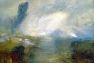 William Turner Print The Thames Above Waterloo Bridge