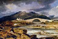 William Turner Print Tummel Bridge Perthshire