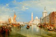 William Turner Print Venice the Dogana and San Giorgio Maggiore 1834