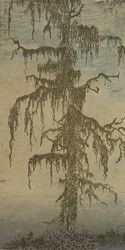 Larch by Hercules Segers Japanese Woodblock