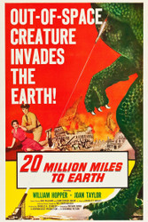 20 Million Miles To Earth 1957 II Movie Poster