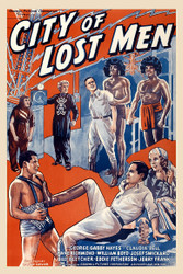 City of Lost Men 1940 Movie Poster