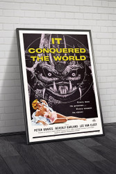 It Conquered The World 1956 Movie Poster Framed