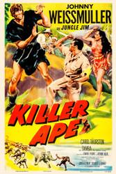 Killer Ape 1953 Movie Poster