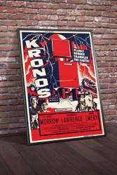 Kronos 1957 Movie Poster Framed