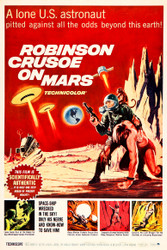 Robinson Crusoe on Mars 1964 II Movie Poster