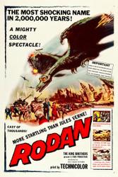 Rodan The Flying Monster 1957 Movie Poster