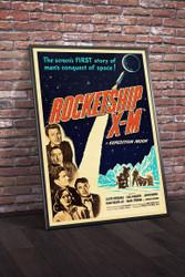 Rocketship X M 1950 Movie Poster Framed