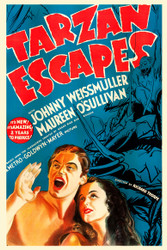 Tarzan Escapes 1936 Movie Poster