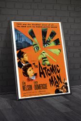 The Atomic Man Movie Poster Framed