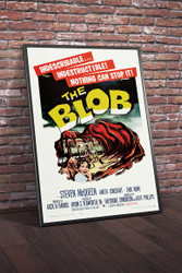 The Blob 1958 Movie Poster Framed