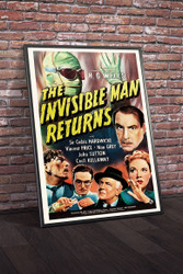 The Invisible Man Returns 1940 Movie Poster Framed