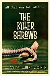 The Killer Shrews 1959 Movie Poster