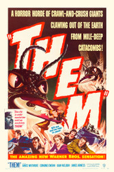 Them 1954 Movie Poster