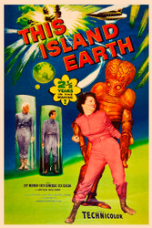 This Island Earth 1955 II Movie Poster