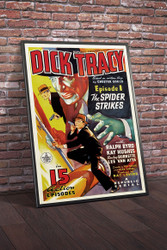 Dick Tracy 1937 Movie Poster Framed