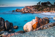 Bay of Fires by Andrew Wilson Seascape Print