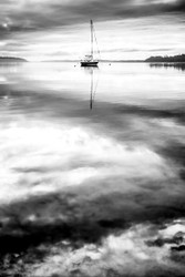 Sailing in the Clouds by Andrew Wilson Seascape Print