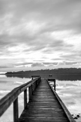 The Jetty by Andrew Wilson Seascape Print