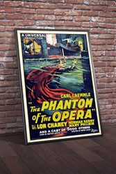 Phantom Of The Opera Movie Poster Framed
