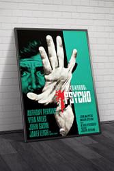 Psycho 1960 Movie Poster Framed