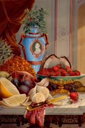 Dessert No 2 By Robert D Wilkie Floral Print